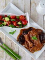 Receta de lomo en salsa de ciruela