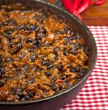 arroz con habichuelas negras