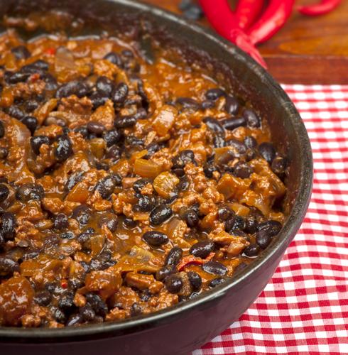 Receta de arroz con habichuelas negras