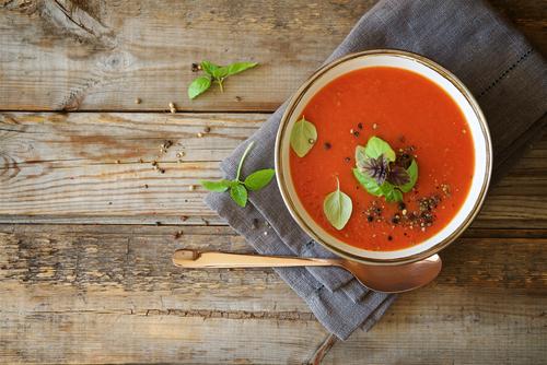 Receta de sopa de tomate andaluza