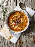 Receta de sopa de tomate italiana