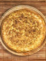 Receta de tortilla de patatas al horno