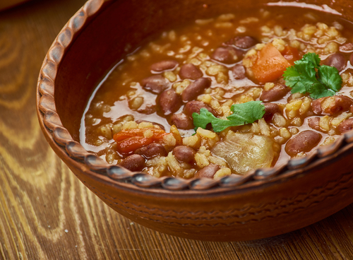 Receta de arroz con habichuelas y pollo