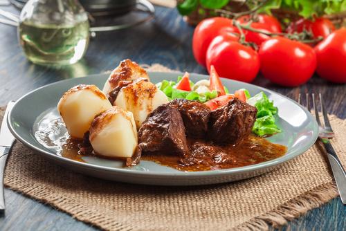 Receta de carrilleras de cerdo en salsa Pedro Ximénez