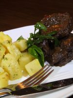 Receta de carrilleras de cerdo en salsa de Oporto