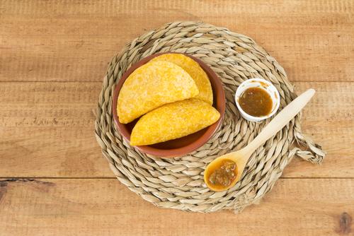Receta de empanadas colombianas de pollo y papa
