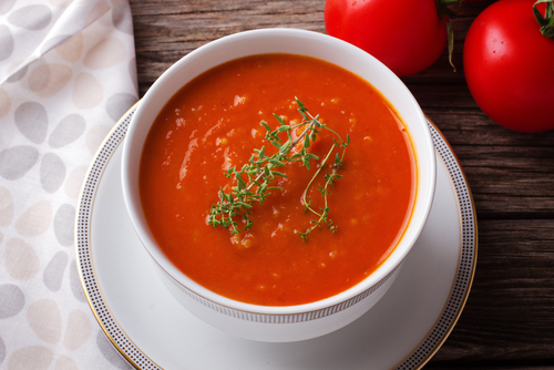 Receta de sopa de tomate thermomix