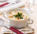 sopa fria de almendras