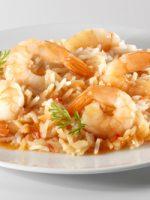 Receta de arroz caldoso con gambas