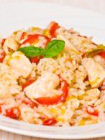 Receta de arroz con bacalao thermomix