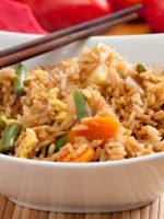 Receta de arroz con bacalao y verduras