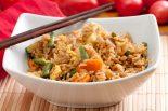 arroz con bacalao y verduras