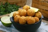 croquetas de bacalao y patatas