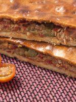 Receta de empanada gallega con hojaldre