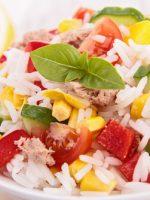 Receta de ensalada de arroz con atún