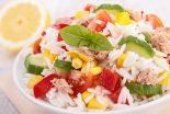 ensalada de arroz con atun
