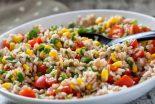 ensalada de arroz frio
