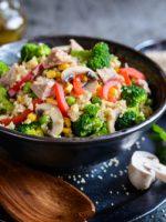 Receta de ensalada de atún con verduras