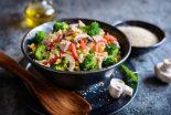 ensalada de atun con verduras