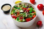 ensalada de garbanzos con verduras