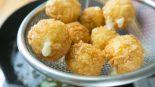 croquetas de setas y queso azul