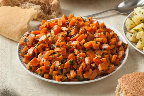 Receta de ensalada de zanahoria marroquí