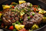 lomo al horno con verduras