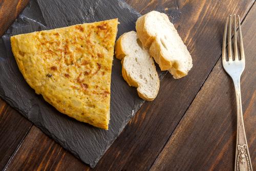Receta de tortilla de bacalao thermomix