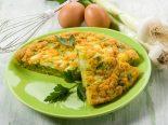 tortilla de bacalao y cebolla