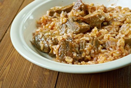Receta de arroz con conejo thermomix