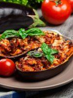 Receta de berenjenas rellenas de verduras