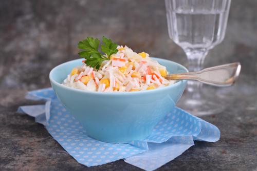 Receta de ensalada de cangrejo con mayonesa