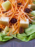 Receta de ensalada de zanahoria con pasas