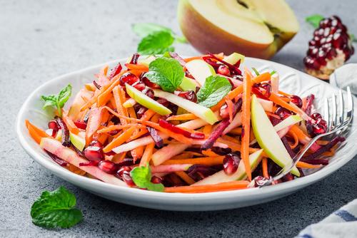 Receta de ensalada de zanahoria y remolacha