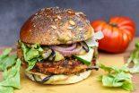hamburguesa de berenjena