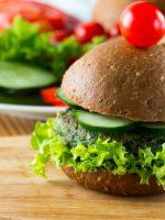 Receta de hamburguesa de brócoli