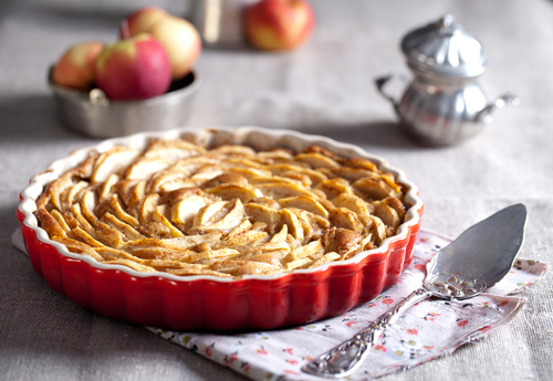 Receta de tarta de manzana sin gluten