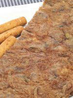 Receta de tortilla de alcachofas thermomix
