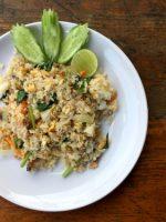 Receta de arroz blanco con pescado