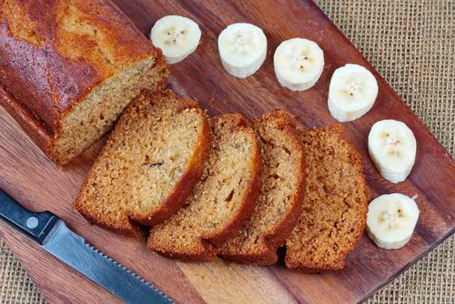 Receta de bizcocho de plátano sin gluten
