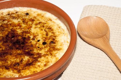 Receta de crema catalana con vainilla