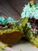 Receta de cupcakes de aguacate