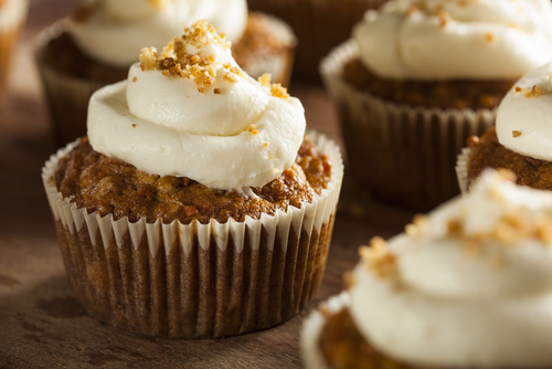 Receta de cupcakes de avena