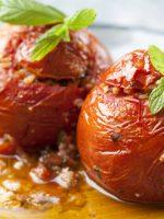 Receta de tomates rellenos al horno