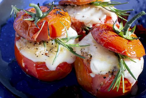 Receta de tomates rellenos de queso