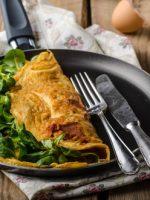 Receta de tortilla de acelgas con atún