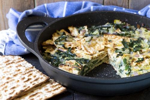 Receta de tortilla de acelgas sin harina