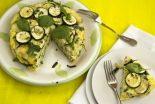 tortilla de esparragos y calabacin