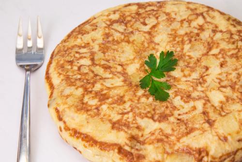Receta de tortilla de espárragos blancos