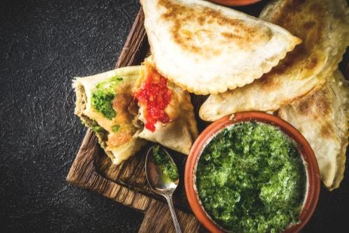 Receta de empanadas chilenas de pollo